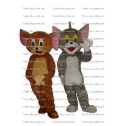 Achat mascotte Souris chat tom et Jerry pas chère. Déguisement mascotte Souris chat tom et Jerry.