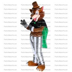 Achat mascotte Loup pas chère. Déguisement mascotte Loup.