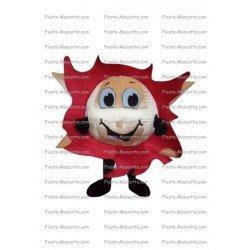 Buy cheap Flame mascot costume.