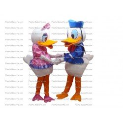 Buy cheap Donald Daisy mascot costume.