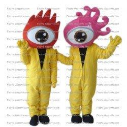 Achat mascotte d oeil pas chère. Déguisement mascotte d oeil.