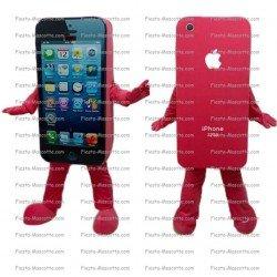 Achat mascotte Téléphone iPhone pas chère. Déguisement mascotte Téléphone iPhone.