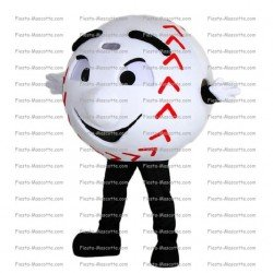 Achat mascotte Balle baseball pas chère. Déguisement mascotte Balle baseball.