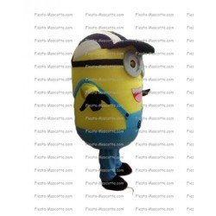 Buy cheap Minion supporter mascot costume.