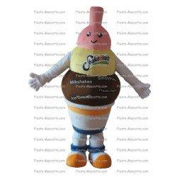 Achat mascotte Pot de glace pas chère. Déguisement mascotte Pot de glace.