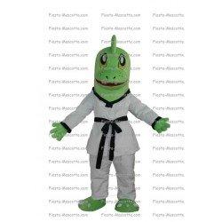 Achat mascotte Dragon judoka pas chère. Déguisement mascotte Dragon judoka.