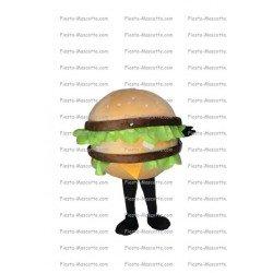 Achat mascotte Burger big mac mac Donald pas chère. Déguisement mascotte Burger big mac mac Donald.