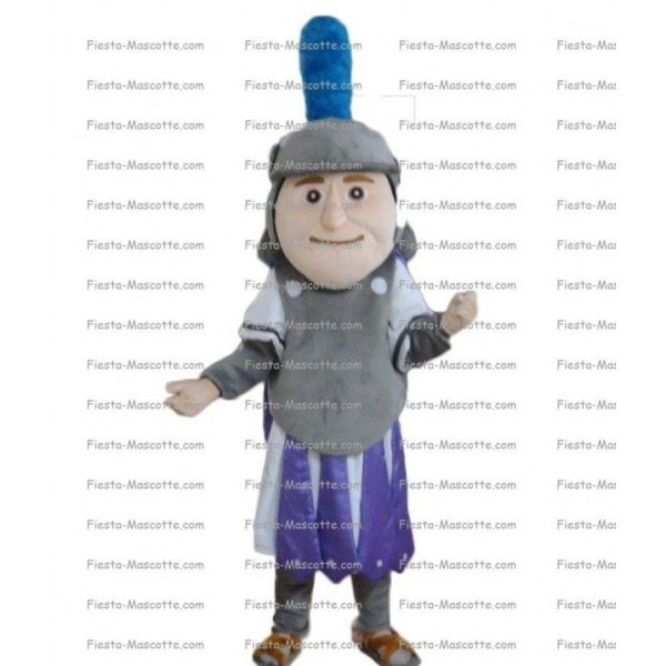 Buy cheap Soldier warrior mascot costume.