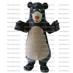 Achat mascotte Baloo ours pas chère. Déguisement mascotte Baloo ours.