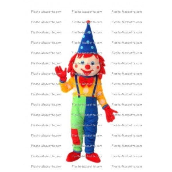 Achat mascotte Clown pas chère. Déguisement mascotte Clown.