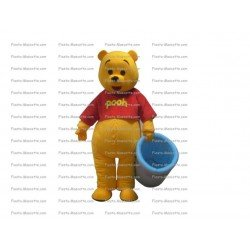 Buy cheap Bear Winnie the pooh mascot costume.