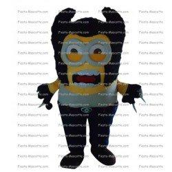 Achat mascotte Minion Elvis pas chère. Déguisement mascotte Minion Elvis.