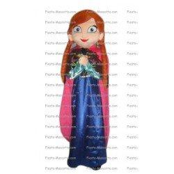 Buy cheap Princess Snow Queen mascot costume.