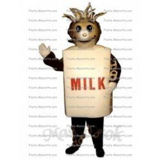 Achat mascotte Brique de lait pas chère. Déguisement mascotte Brique de lait.