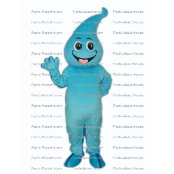 Buy cheap Blue water drop mascot costume.