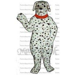 Buy cheap Dalmatian dog mascot costume.