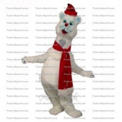 Buy cheap Christmas cat mascot costume.