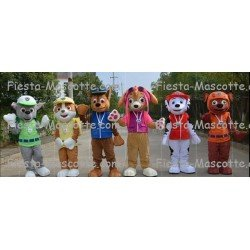 achat mascotte pat patrouille Marcus, Ruben, Chase, Rocky, Zuma, Stella, Everest, Tracker