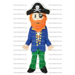 Achat mascotte Pirate pas chère. Déguisement mascotte Pirate.