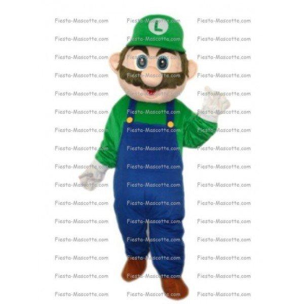 Buy cheap Luigi mascot costume.