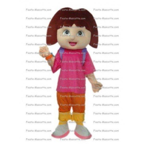 Buy cheap Dora mascot costume.