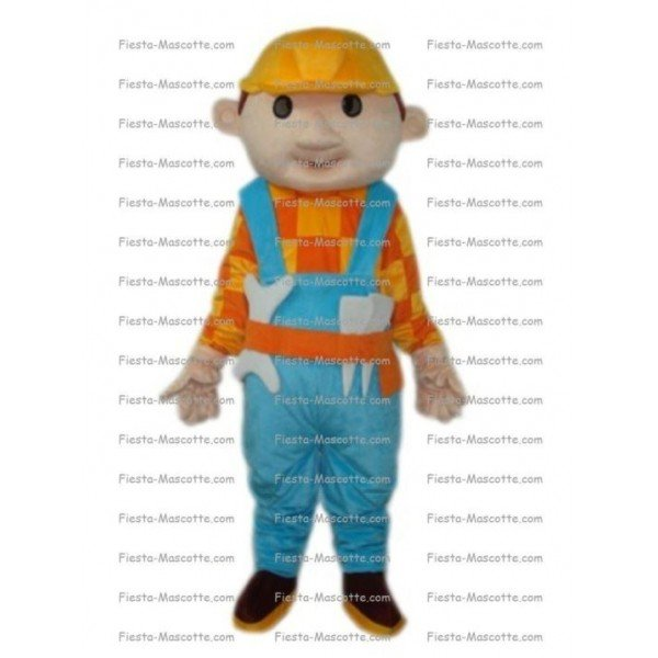 Buy cheap Bob the Builder mascot costume.