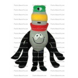 Achat mascotte Pieuvre Rasta pas chère. Déguisement mascotte Pieuvre Rasta.
