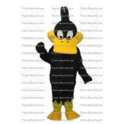 Achat mascotte Canard Daffy Duck pas chère. Déguisement mascotte Canard Daffy Duck.