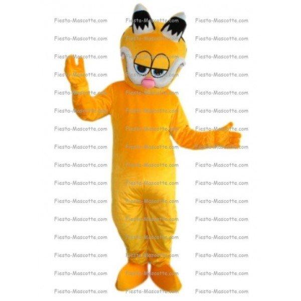 Buy cheap cat Garfield mascot costume.