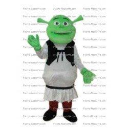 Achat mascotte Shrek pas chère. Déguisement mascotte Shrek.