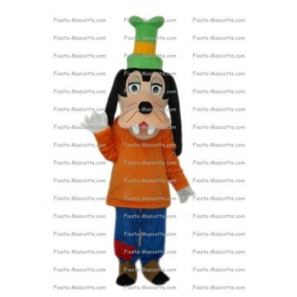 Achat mascotte chien Dingo pas chère. Déguisement mascotte chien Dingo.