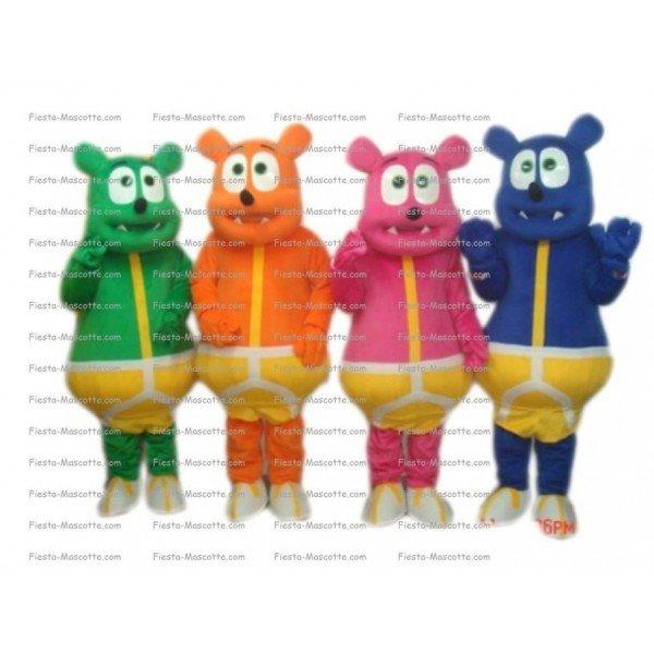 Buy cheap Haribo bear mascot costume.
