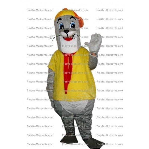 Achat mascotte Phoque pas chère. Déguisement mascotte Phoque.