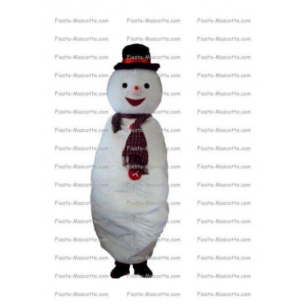 Buy cheap Snowman mascot costume.